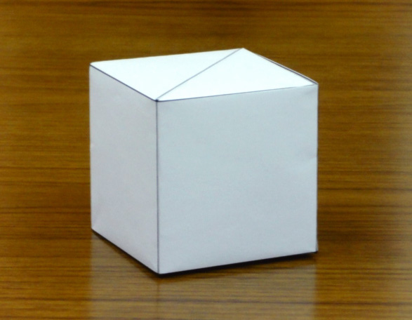 クリスマス 折り紙 折り紙 立方体 : aaatoyo.com