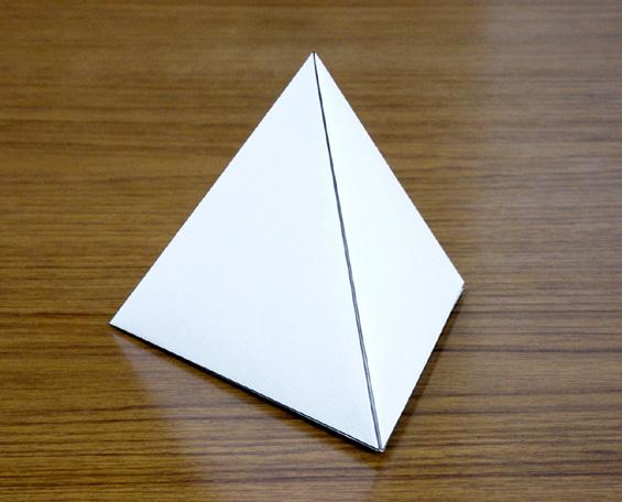 すべての折り紙 紙 箱 折り方 : 実線山折り 点線谷折り